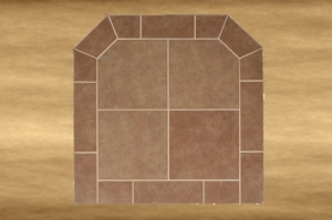 Diamond Flatwall Bianco Brown