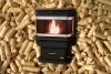 Pellet Stove J1812 Black door